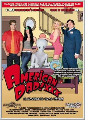 Американский папаша: Порно Пародия / American Dad XXX: An Exquisite Films Parody (2011)