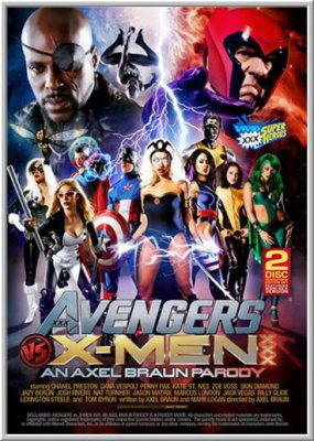 Мстители против Людей Икс: Порно Пародия / Avengers VS X-Men XXX Parody (2015)
